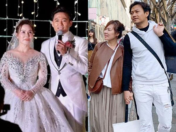 Những khoảnh khắc tình tứ của Quý Bình và vợ đại gia