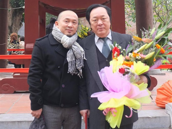 NSND Trung Kiên qua đời ở tuổi 82, nhạc sĩ Quốc Trung xúc động tạm biệt bố