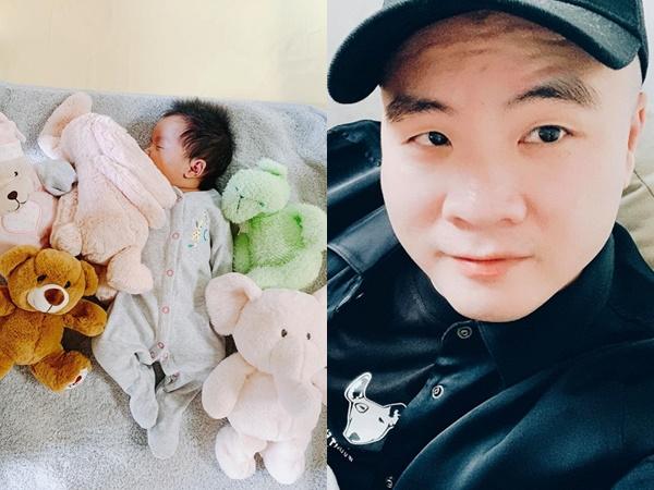 NTK Đỗ Mạnh Cường làm đầy tháng cho con gái nuôi và bật mí bé giống Hoa hậu Hà Kiều Anh