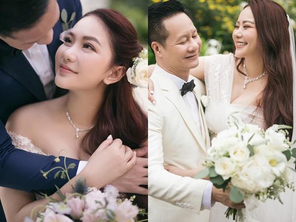 Phan Như Thảo tung ảnh cưới đẹp như cổ tích bên chồng đại gia hơn 26 tuổi