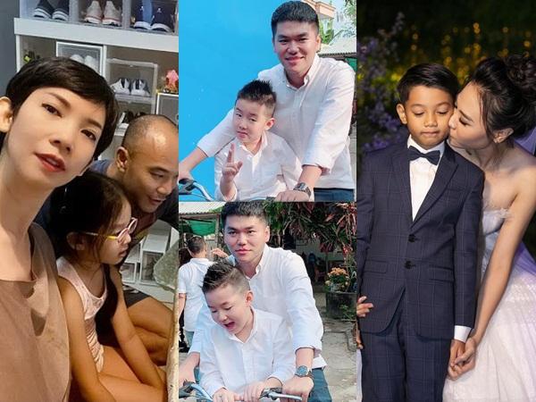 Phản ứng của con sao Việt khi bố mẹ có tình mới: Subeo đầy khoảnh khắc ngọt ngào bên Kim Lý và Đàm Thu Trang, bất ngờ nhất là chia sẻ của con trai Chi Bảo