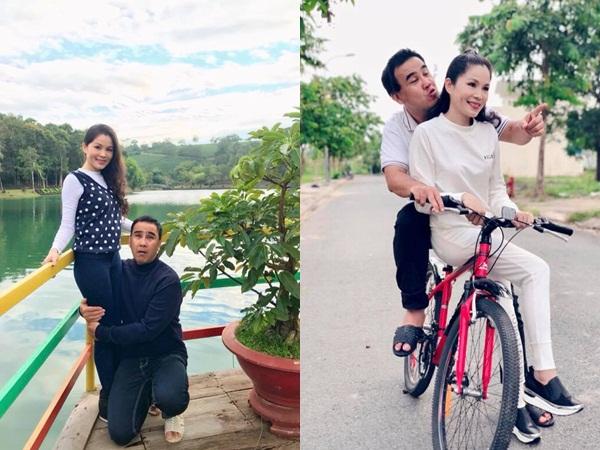 Phụ nữ mấy ai được như vợ Quyền Linh, gần 14 năm chung sống mà chồng vẫn 'cưng như trứng mỏng'
