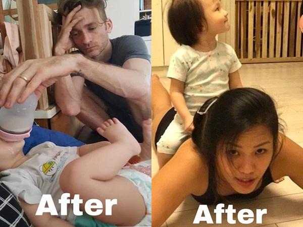 Đáng yêu như vợ chồng Phương Vy khi tiết lộ cuộc sống thay đổi 180 độ sau khi có con