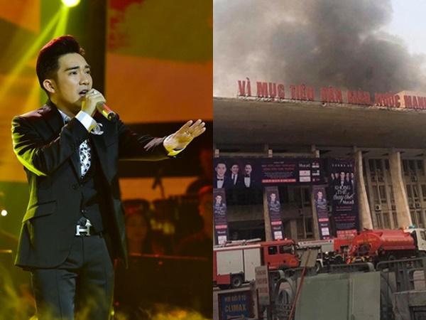 Quang Hà nói thiệt hại hơn 8 tỷ đồng vì vụ cháy Cung Văn hóa Việt Xô