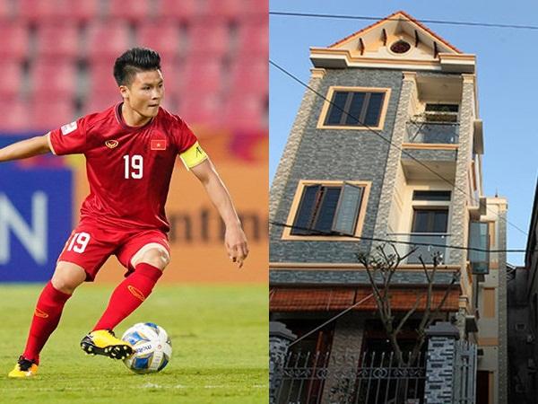 Chưa dứt lùm xùm tình ái, Quang Hải lại để lộ hình ảnh đi mua nhà bạc tỷ ở tuổi 23 khiến dân mạng xôn xao