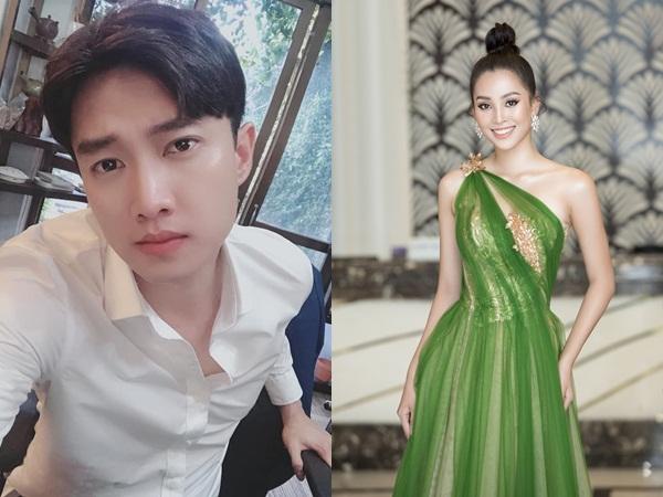 """Quốc Trường nhiệt tình """"thả thính"""", Hoa hậu Trần Tiểu Vy ra sức xin xỏ"""