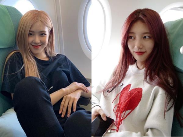 """Rầm rộ """"bằng chứng"""" Suzy và Rosé (BLACKPINK)... hẹn hò: Từ năm 2019 đã có hint tung tóe, giờ hot trở lại?"""