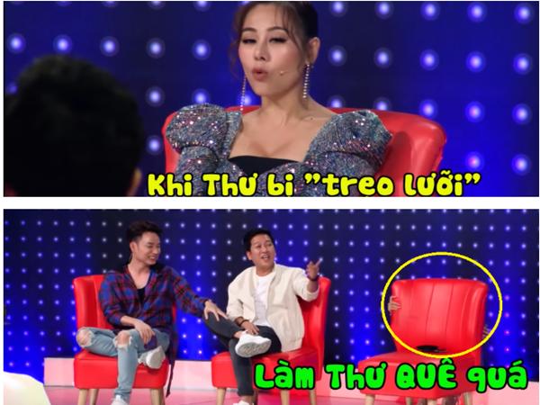 Hột vịt còn có thể lộn chứ sao Việt mà nói lộn trên gameshow thì không yên với đồng nghiệp rồi!