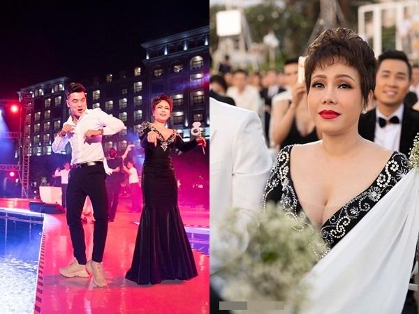 Sau 2 năm mới đi dự đám cưới, Việt Hương phản ứng bất ngờ khi bị chê 'mặc lố'