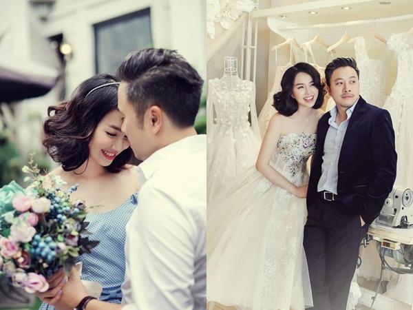 Sau 4 năm kết hôn, Đinh Ngọc Diệp khoe loạt ảnh cướilung linh bên Victor Vũ
