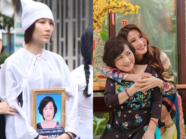 Sau 8 ngày mẹ mất, Diễm My khóc ngất nhớ về quá khứ, giờ nhìn đâu cũng thấy hình bóng mẹ