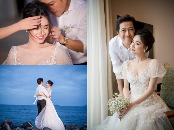 Sau gần 2 năm giấu kín, Trường Giang và Nhã Phương tung ảnh đính hôn đẹp lung linh