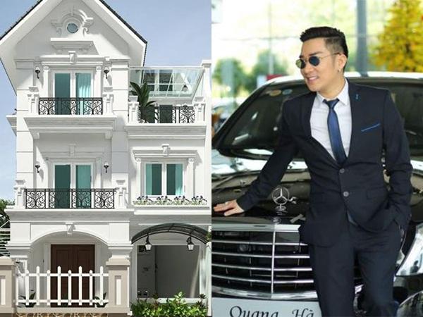 Sau gần 20 năm ca hát, Quang Hà sở hữu 13 căn nhà và khối tài sản khổng lồ