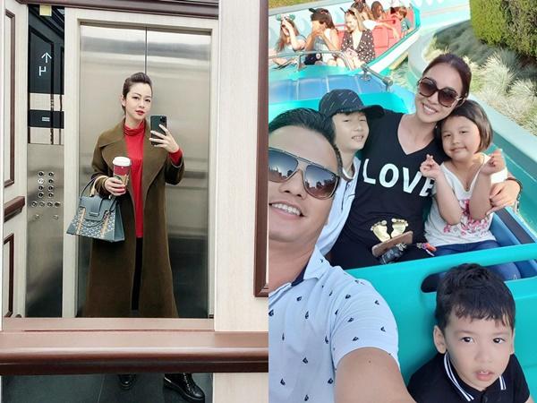 Sau hơn 1 tuần sinh con, Hoa hậu Jennifer Phạm 'đẹp hết phần thiên hạ' khi đi sắm Tết