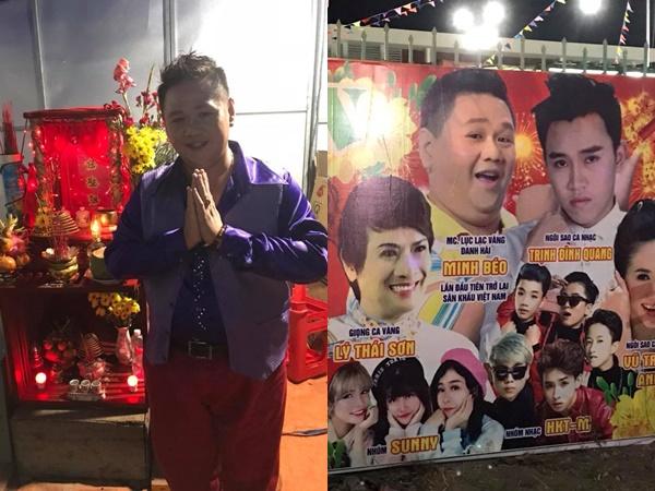 Sau scandal ấu dâm, Minh Béo chính thức đánh dấu sự trở lại tại sân khấu... hội chợ