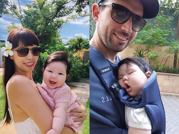 Sinh mổ con gái chưa đầy 5 tháng, Hà Anh đã bị chồng Tây 'giục' sinh thêm đứa thứ 2