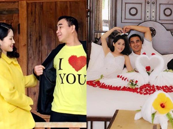 Sợ vợ chê sến, MC Quyền Linh tặng quà cực độc cho bà xã đại gia vào Lễ tình nhân