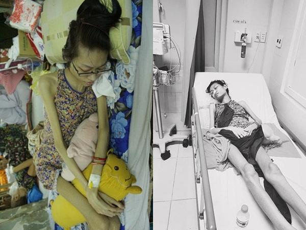Sức khỏe của người mẫu 9x bị ung thư buồng trứng chuyển biến xấu: Di căn toàn ổ bụng, lan sang gan và phổi
