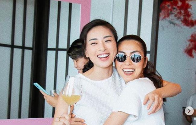 """Tăng Thanh Hà tụ tập cùng """"chị ba"""" Ngô Thanh Vân và hội """"chị em"""" khiến ai nấy cũng ngưỡng mộ"""