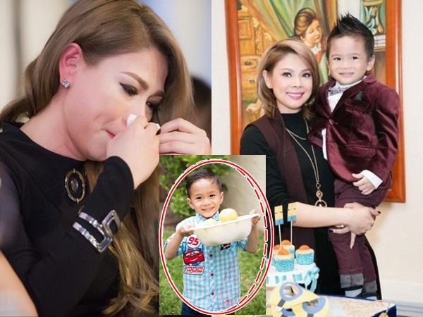 Thanh Thảo lo lắng cầu cứu dân mạng khi con trai nuôi 7 tuổi gặp vấn đề sức khỏe