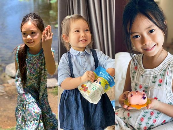 Thiên thần lai nhà các sao Vbiz: Đều là những tiểu mỹ nhân, riêng con gái Đoan Trang có khả năng ngôn ngữ đáng nể