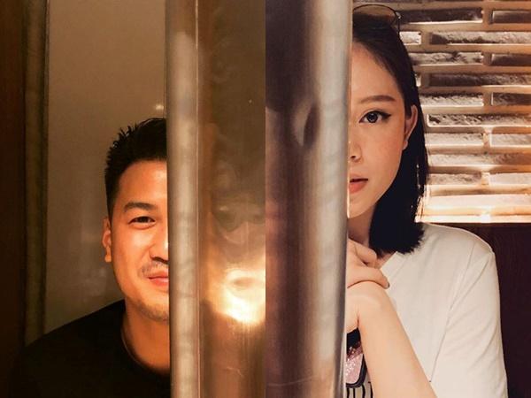Thiếu gia Phillip Nguyễn và Linh Rin cùng đăng ảnh ở Đà Nẵng
