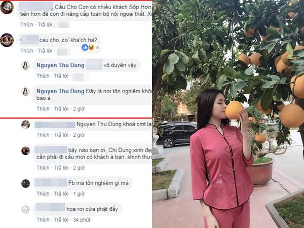 Thư Dung đáp trả khi bị anti-fan nói đi chùa cầu cho có khách