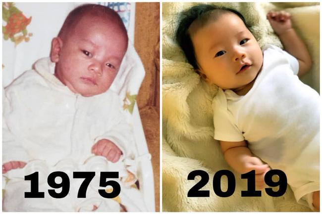 """Thử thách 44 năm nhà Victor Vũ: Thiên thần mới ra đời nhưng vẫn như """"đúc cùng một khuôn"""" với cha"""