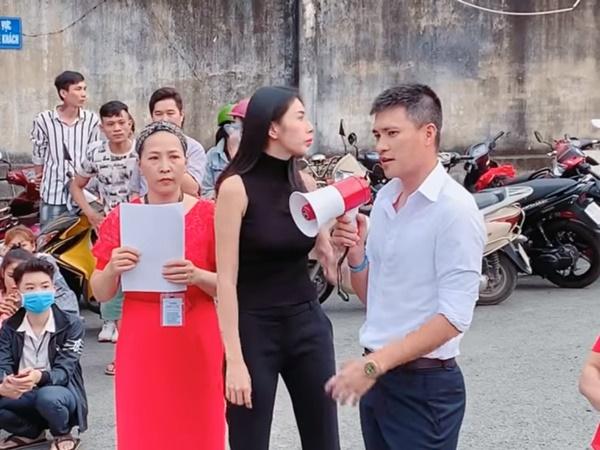 Thủy Tiên, Công Vinh cầm 1 tỷ tiền mặt giúp công nhân bị nợ lương Tết