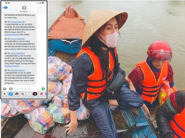 Thủy Tiên thông báo tiền cứu trợ đã hơn 100 tỷ, xúc động khẩn cầu mọi người điều này