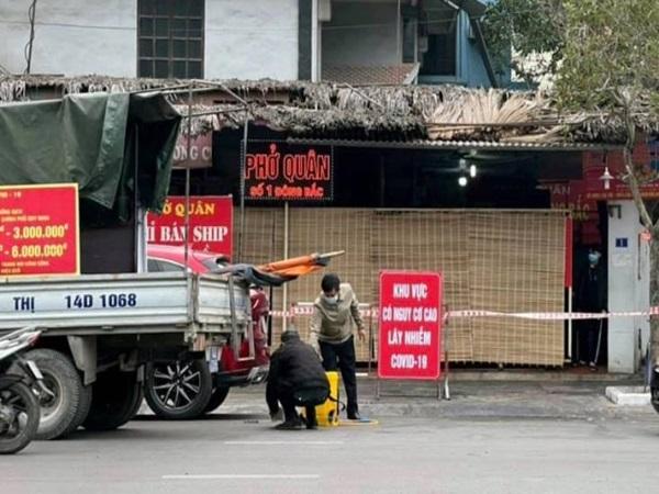 Tình hình COVID-19 ở Quảng Ninh tính đến sáng 1/2/2021