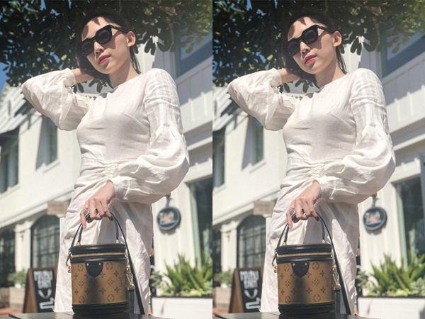 Tóc Tiên mượn Nguỵ Anh Lạc đáp trả khi bị nghi đăng ảnh chiếc áo phản cảm để 'đá xéo' ai đó