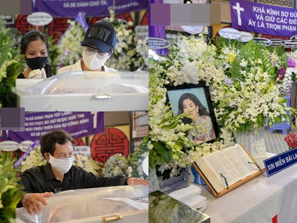 Trịnh Kim Chi, Ốc Thanh Vân nghẹn ngào bật khóc, gia đình thất thần đưa tiễn Mai Phương về nơi an nghỉ cuối cùng