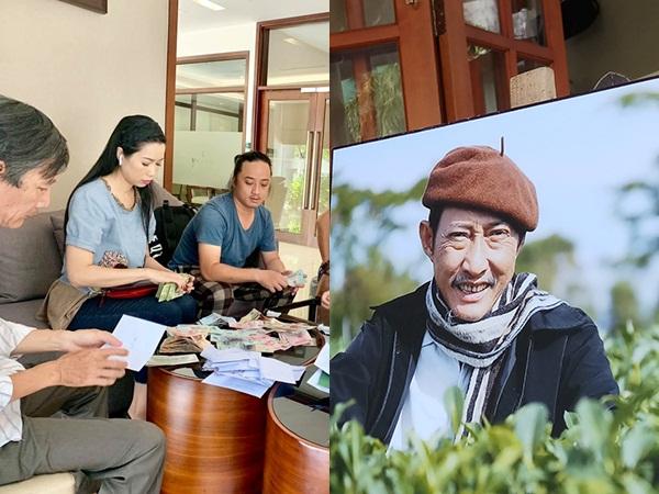 Trịnh Kim Chi tiết lộ số tiền phúng điếu, xúc động trước di nguyện cuối cùng của NS Lê Bình