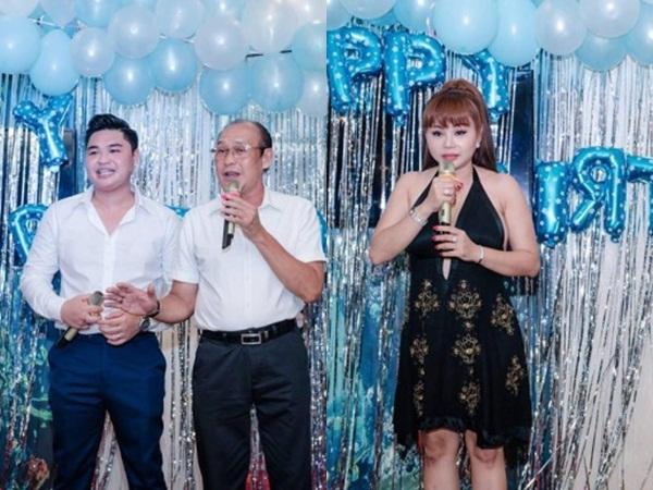 Từng lên truyền hình tố bị chồng cũ đánh đập, Lê Giang bất ngờ 'đụng mặt' Duy Phương tại sinh nhật con trai
