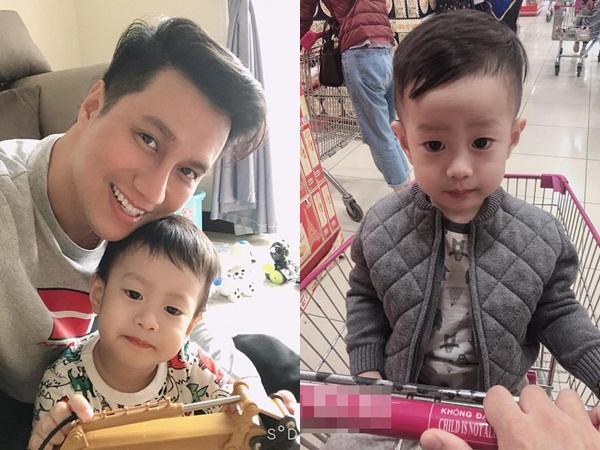 Khoe con trai lớn phổng phao, Việt Anh tiết lộ đã đưa cậu bé về sống cùng được một thời gian