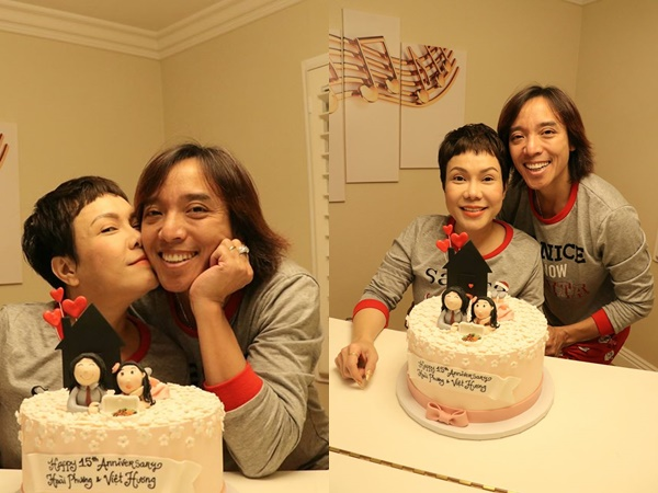 Vợ chồng Việt Hương kỷ niệm 15 năm bên nhau, tiết lộ nên duyên qua hộp cơm tấm