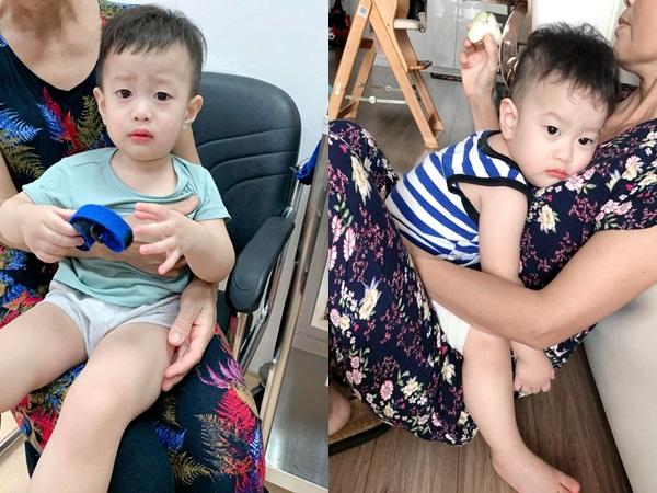 Hơn 1 tháng làm mẹ đơn thân, vợ cũ Việt Anh bất lực khi thấy con trai gầy xọp vì không ăn uống được