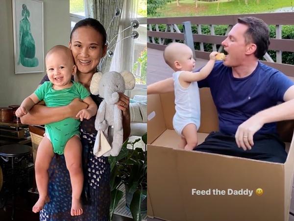Vợ đại gia của chồng cũ Hồng Nhung khoe ảnh con trai tròn 9 tháng tuổi, tiết lộ tên và thông tin thú vị về cậu nhóc
