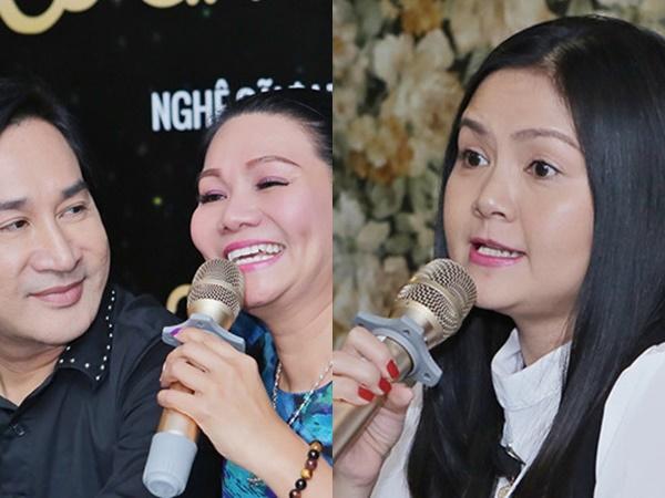 Vợ Kim Tử Long: 'Anh ấy ôm Ngọc Huyền nhiều thì tôi càng mừng'