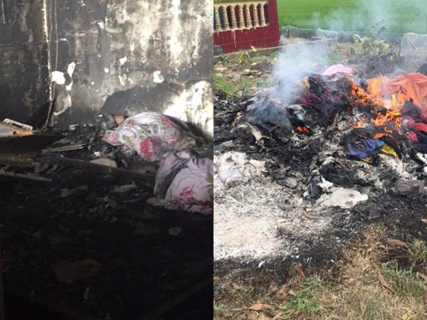 Vụ cháy trong căn nhà khóa trái cửa: Người thân gục ngã khi nhìn thi thể 3 mẹ con nằm ôm nhau trên giường