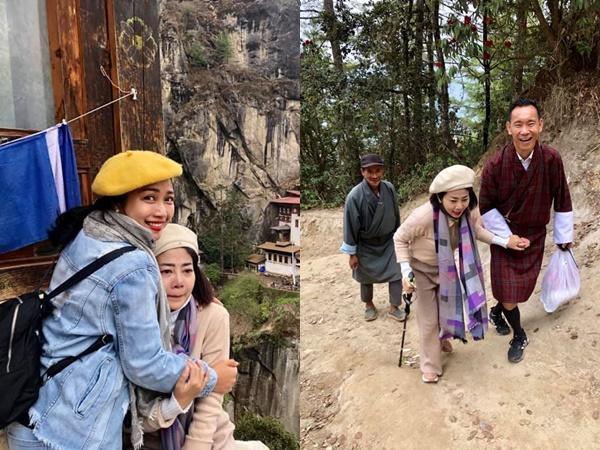 Xót xa hình ảnh Mai Phương ngồi xe lăn đi du lịch, ôm mặt bật khóc khi cầu nguyện sức khỏe