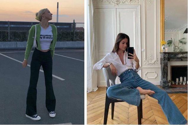 Kiểu quần jeans hack dáng cực đỉnh, vừa dài chân vừa tôn vòng 3 'đỉnh của chóp' đó các chị em - Ảnh 3