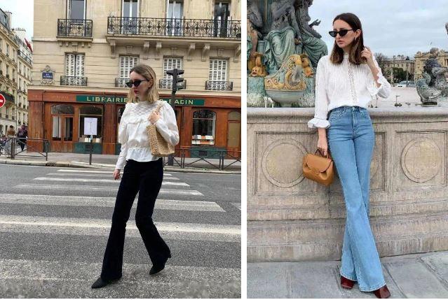 Kiểu quần jeans hack dáng cực đỉnh, vừa dài chân vừa tôn vòng 3 'đỉnh của chóp' đó các chị em - Ảnh 4