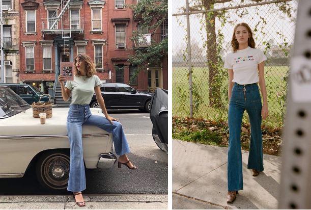 Kiểu quần jeans hack dáng cực đỉnh, vừa dài chân vừa tôn vòng 3 'đỉnh của chóp' đó các chị em - Ảnh 5