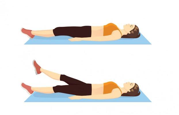 Bài tập 10 phút mỗi ngày giảm mỡ bụng cho eo phẳng lì không cần đến phòng gym - Ảnh 2