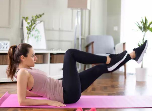 Bài tập 10 phút mỗi ngày giảm mỡ bụng cho eo phẳng lì không cần đến phòng gym - Ảnh 5