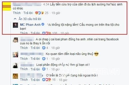 Phản ứng của MC Phan Anh khi bị nói lấy tiền cứu trợ miền Trung đi du lịch Châu Âu - Ảnh 6