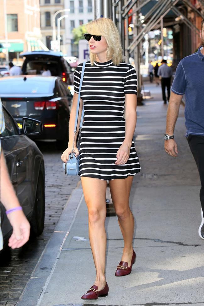 Taylor Swift xuống phố là lên đồ sang - xịn - mịn, và cùng chiêm ngưỡng loạt outfit mãn nhãn của 'Rắn Chúa' - Ảnh 5