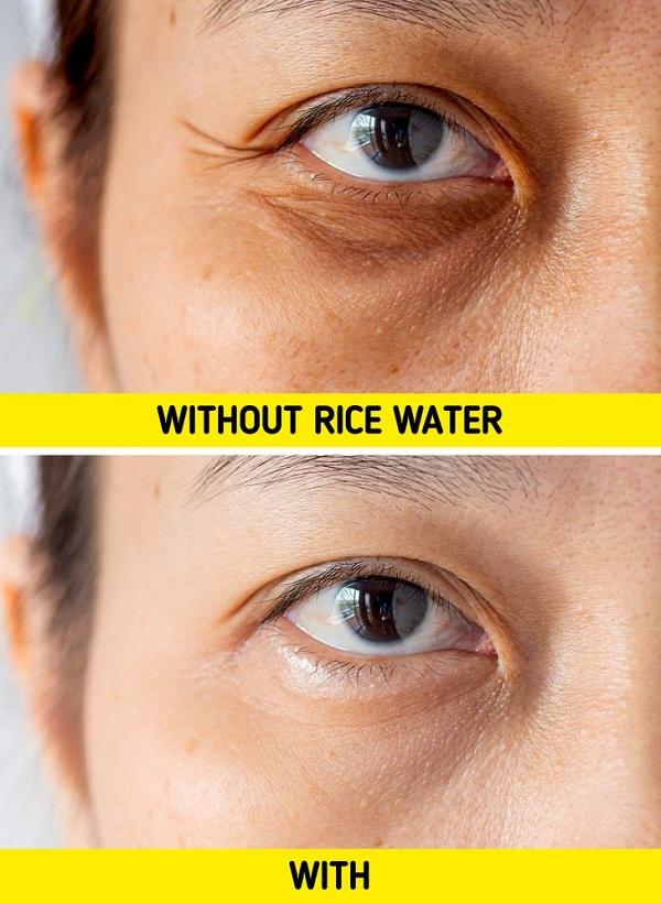 Điều gì xảy ra với làn da khi rửa mặt bằng nước vo gạo? - Ảnh 1
